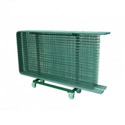 chariot de transport pour grilles