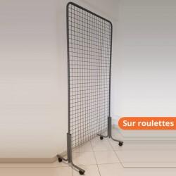 Nos grilles d'affichage sur roullettes
