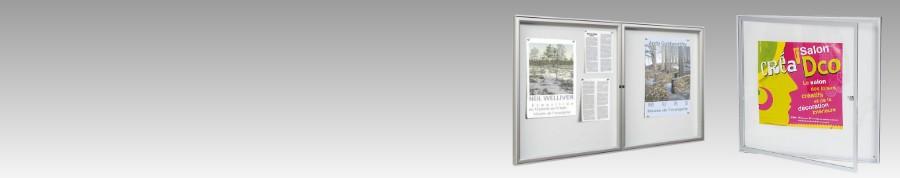 Plusieurs modèles de panneaux d'affichage